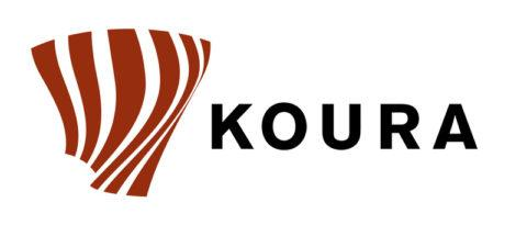 Jaakko Veijolan suunnittelema KOURA-logo
